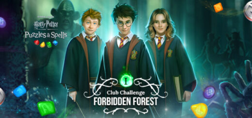 """""""Harry Potter: Puzzles & Spells"""" cover for new Club Challenge"""