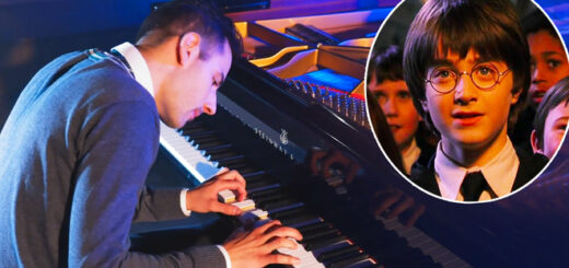 """Peter Bence playing the """"Harry Potter"""" Medley"""