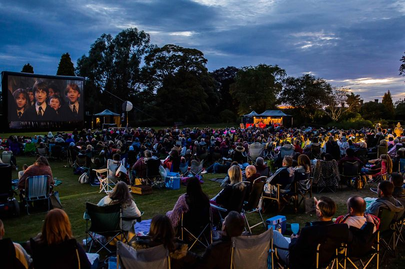 A Potter Screening at Alnwick Castle in Northumberland, England
