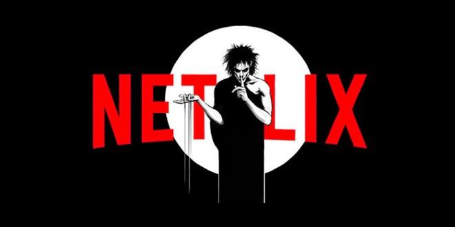 "The poster for Netflix's ""The Sandman""."