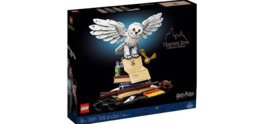 """The front of the rumored LEGO """"Harry Potter"""" Hogwarts Icons set"""