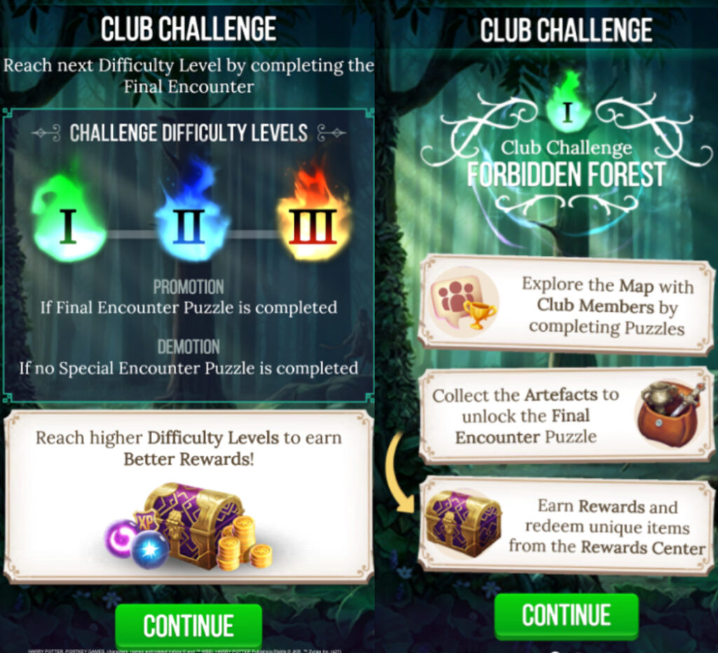 """The new Club Challenge on """"Harry Potter: Puzzles & Spells"""""""