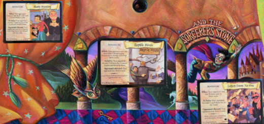 This is an example of the HPTCG artwork.