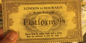 DIY Platform Ticket