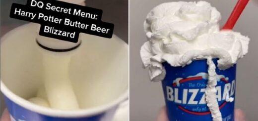 Butterbeer treat at Dairy Queen