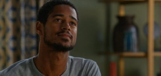 Alfred Enoch playing a lead character in one of his TV shows.