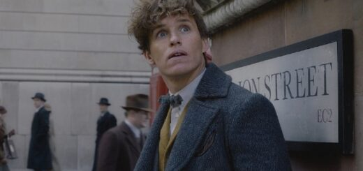 Newt Scamander in Fantastic Beasts and Where To Find Them.