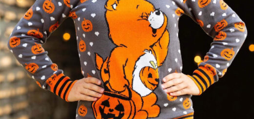 Halloween care bear sweater
