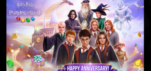 Featured Image for the anniversary celebration of Harry Potter: Puzzles & Spells.