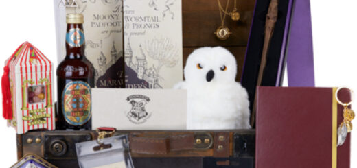 A shot of a Back to Hogwarts Trunk available at Wizarding World