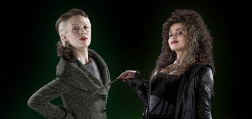 Bellatrix and Narcissa next to each other