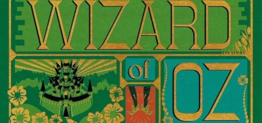 This is the cover of MinaLima's Wizard of Oz