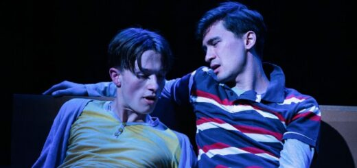 """Jack (Alex Britt) and Ollie (Max Percy) in """"Dumbledore Is So Gay"""""""