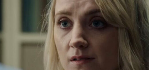 A shot of Evanna Lynch in BBc One crime drama Silent Witness