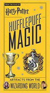 Hufflepuff Magic Book Cover