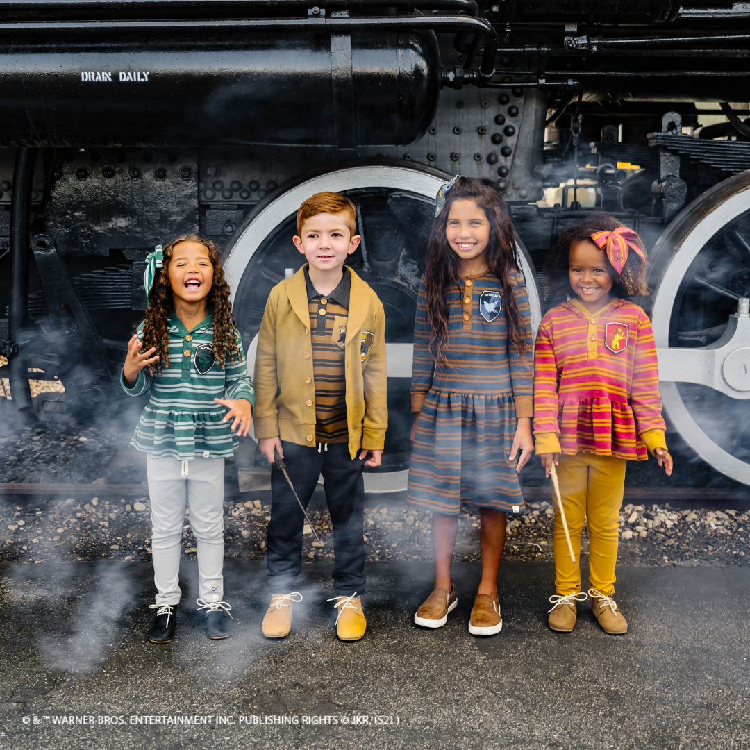 """Lulu and Roo has partnered with Warner Bros. Consumer Products for a collection featuring a variety of comfortable and stylish clothing to celebrate the 20th anniversary of """"Harry Potter and the Sorcerer's Stone."""""""