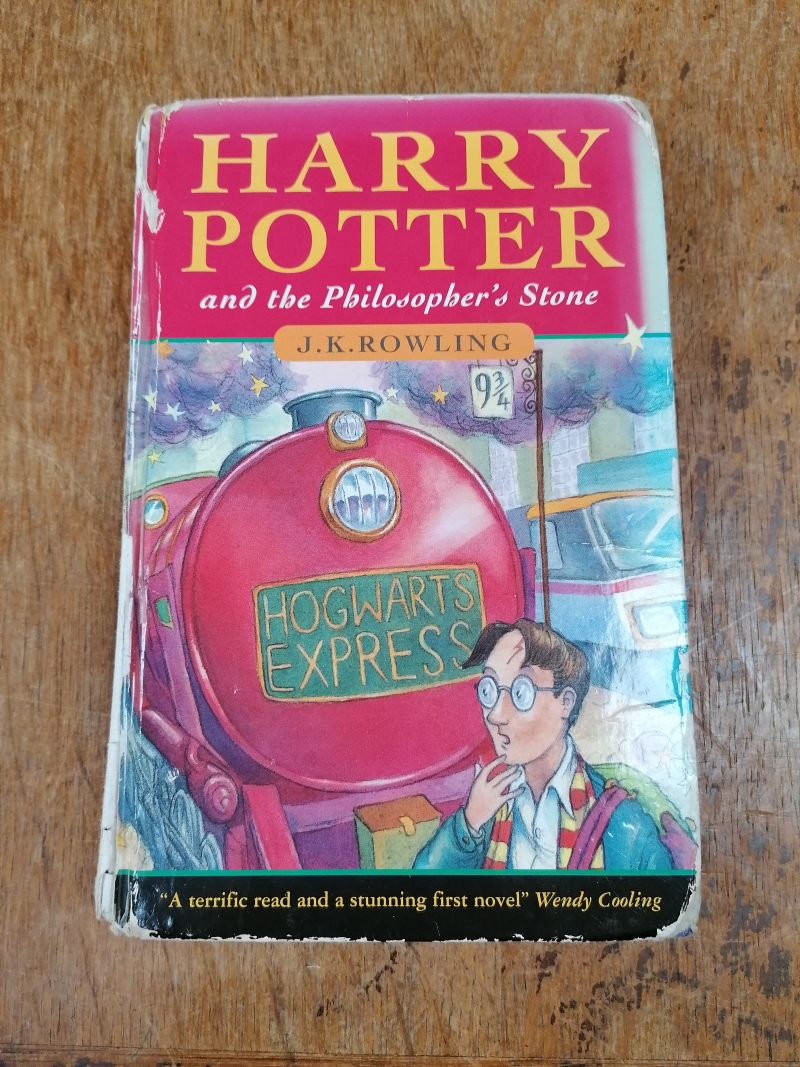The book – front cover (Credit: Hansons/Harry Potter)