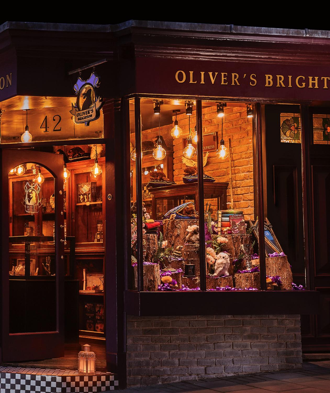 Oliver's Brighton shop front