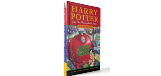 """A rare copy of """"Harry Potter and the Philosopher's Stone"""" is pictured as sold at auction by Mullen's, an auction house in Bray, Ireland."""