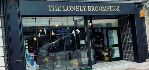 """The """"Potter""""-inspired shop and café The Lonely Broomstick, located in Falkirk, Scotland, in the United Kingdom, held its grand opening on August 30."""