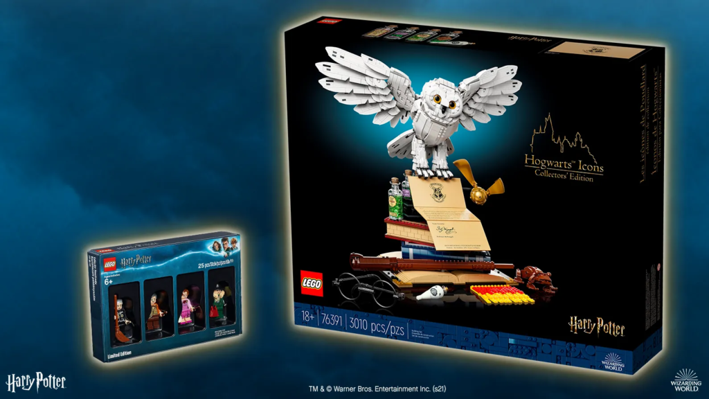 """Two runners up will each receive these two LEGO """"Harry Potter"""" sets"""