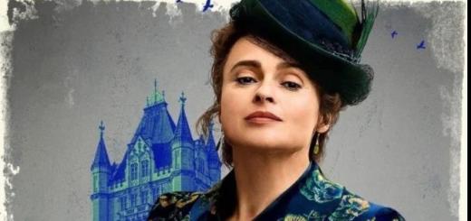"Helena Bonham Carter in ""Enola Holmes"""