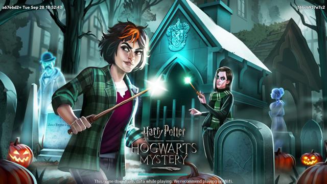 """Harry Potter: Hogwarts Mystery"" October loading screen"