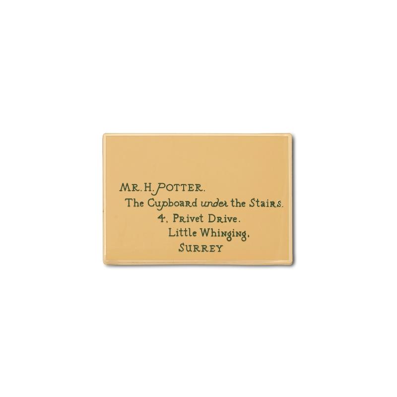 Harry Potter Essentials Hogwarts letter pin