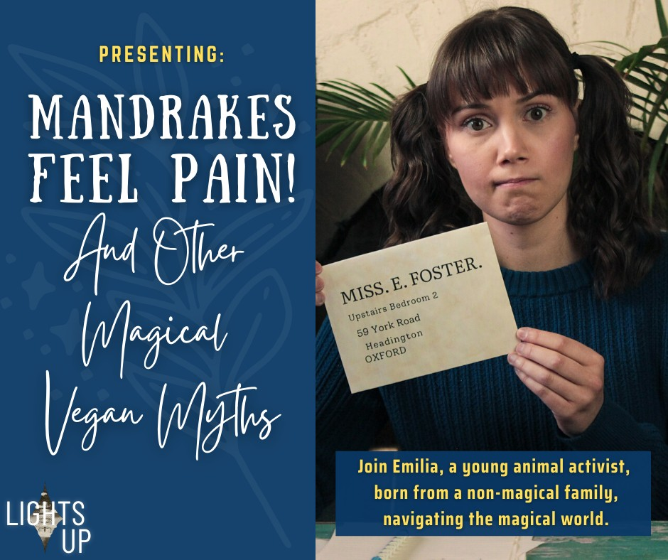 """""""Mandrakes Feel Pain! And Other Magical Vegan Myths"""" takes a long, hard look at the rights of animals in the wizarding world."""