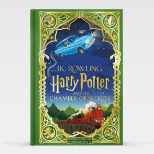MinaLima illustrated version of Harry Potter and the Chamber of Secrets book.