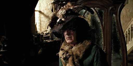 This is Snape dressed as Neville's grandma.