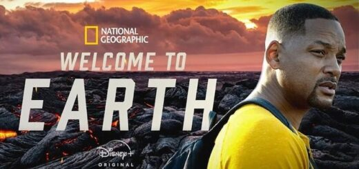 """This is the poster for """"Welcome to Earth."""""""